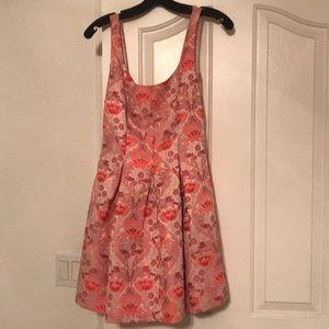 Bebe jacquard dress